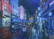 Frith Street at Night